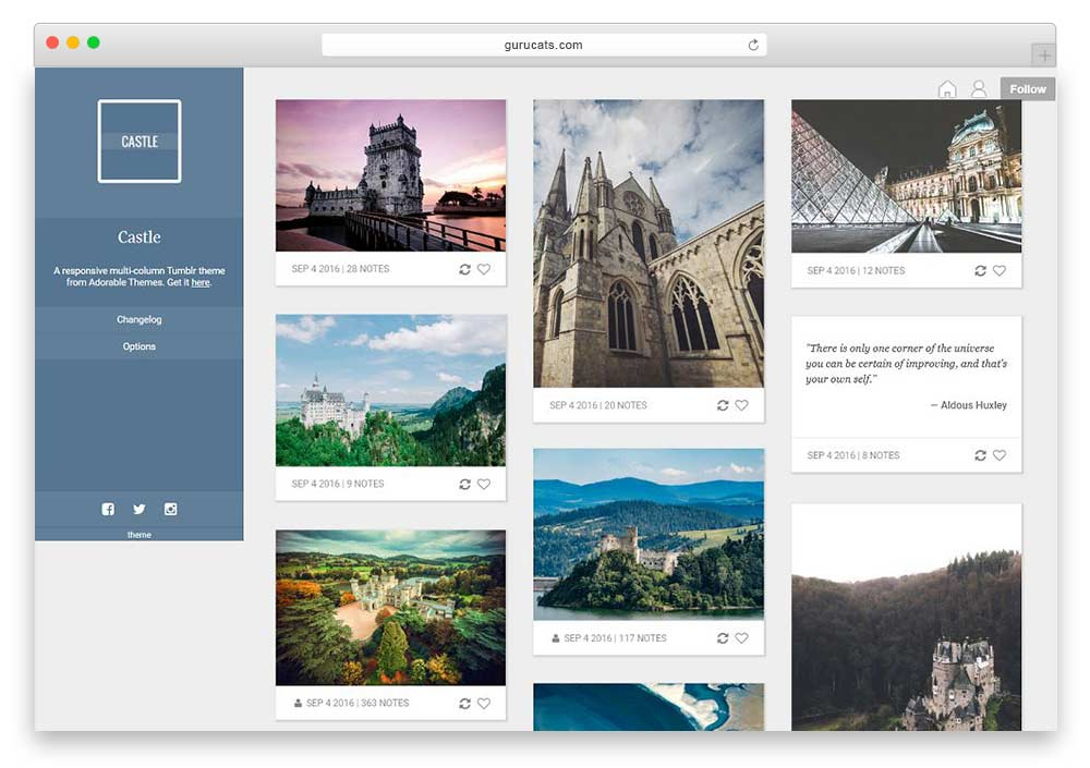 15 Best Free And Premium Tumblr Themes 2018 Best Themes Plugins